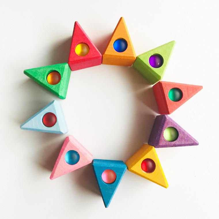 Bauspiel Coloured Triangles