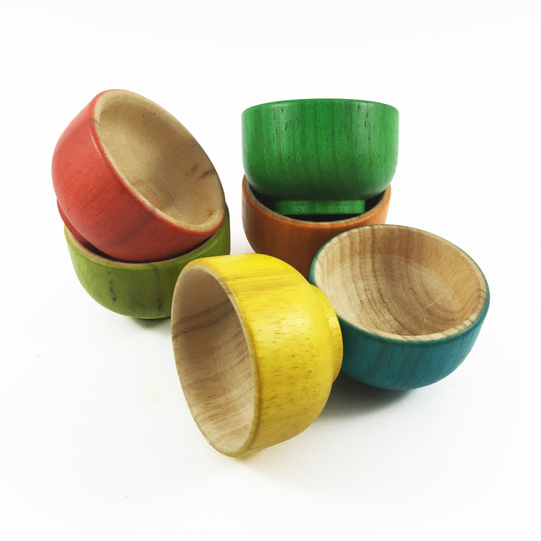 Rainbow Sorting Bowls