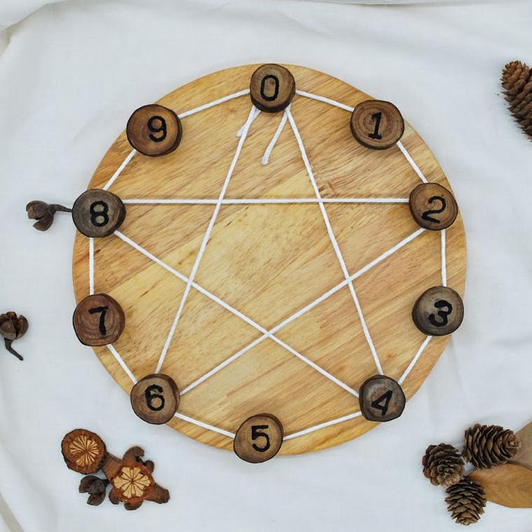 Steiner Inspired Maths Learning wheel | QToys