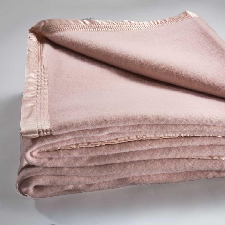 Bianca Australian Wool Blanket|Dusty Pink