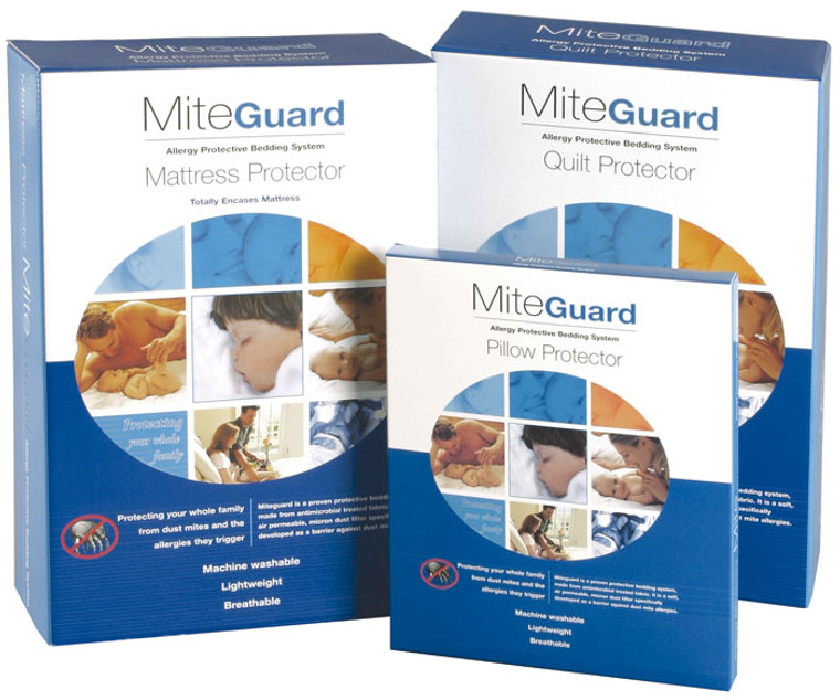 Miteguard Allergy Dustmite Bedding Protection