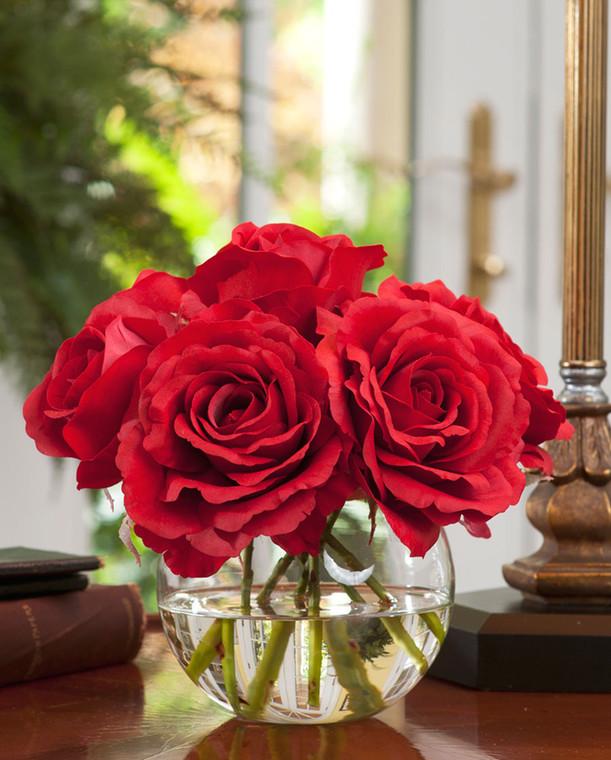 Silk Rose Nosegay