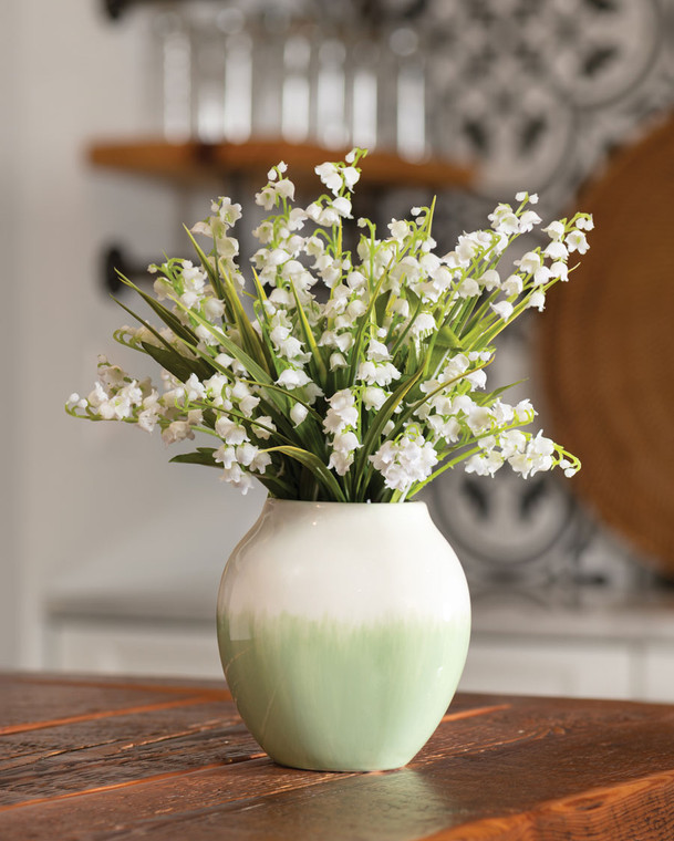 Lily of the Valley<br>Faux Flower Accent