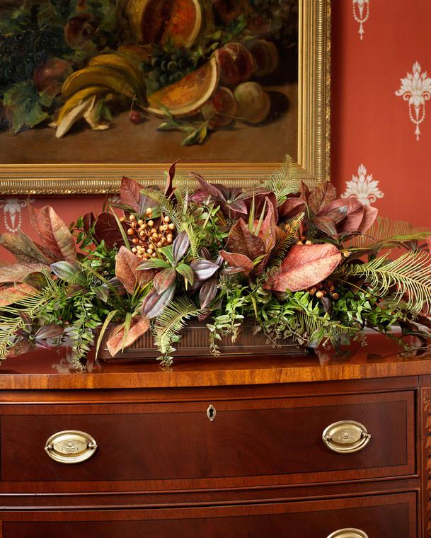 Tuscan Buffet Silk Centerpiece