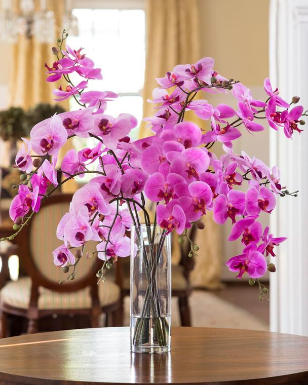 Grand Phalaenopsis Orchid Artificial Flower Arrangement