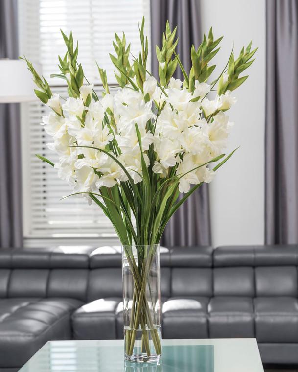 Gladiolus Silk Flower Arrangement