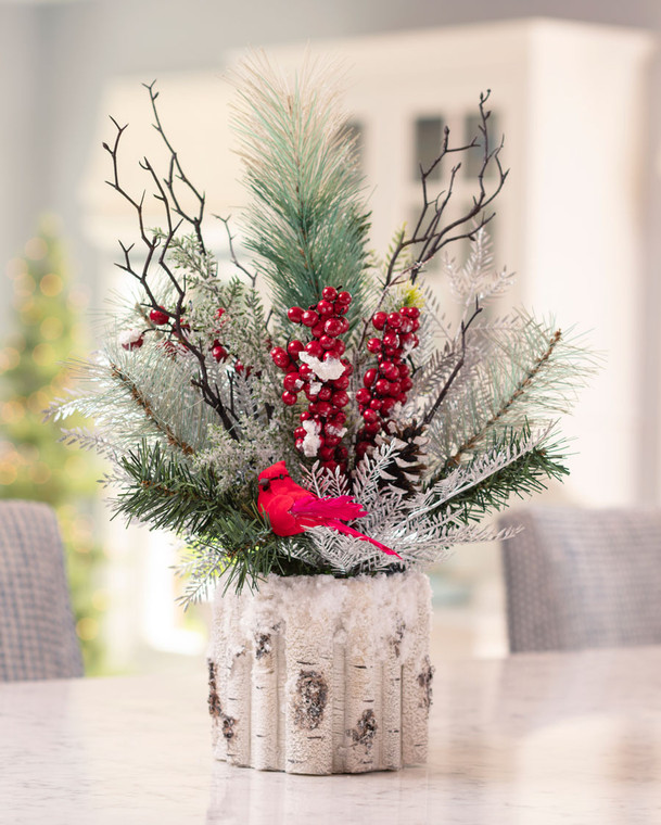 Winter Woods<br>Artificial Holiday Accent