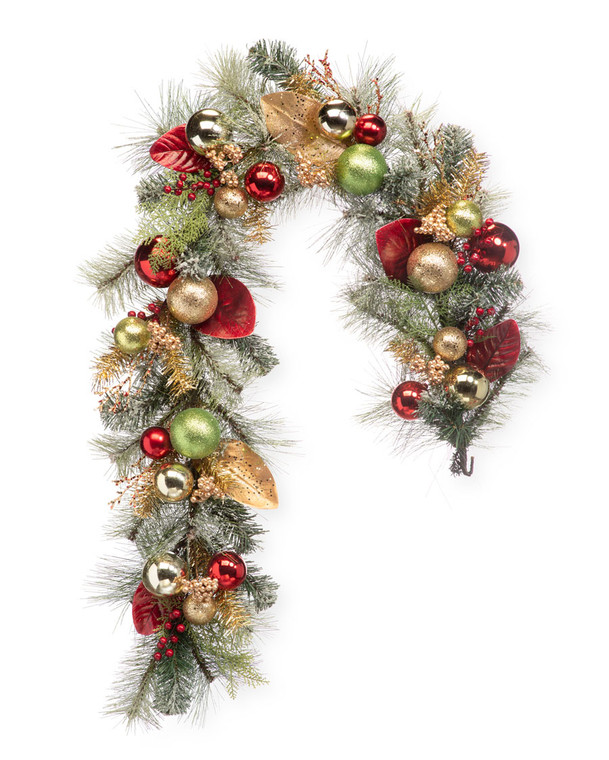 Holiday Sparkle Artificial Christmas Garland