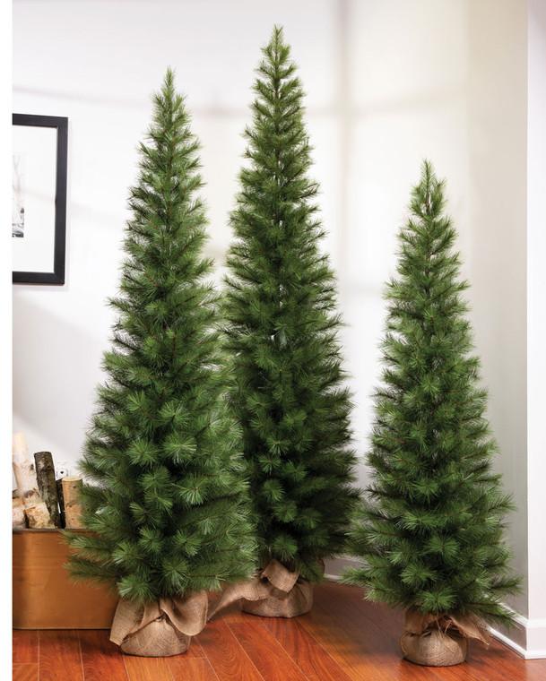 6' Austrian Pine Slim Artificial Christmas Tree
