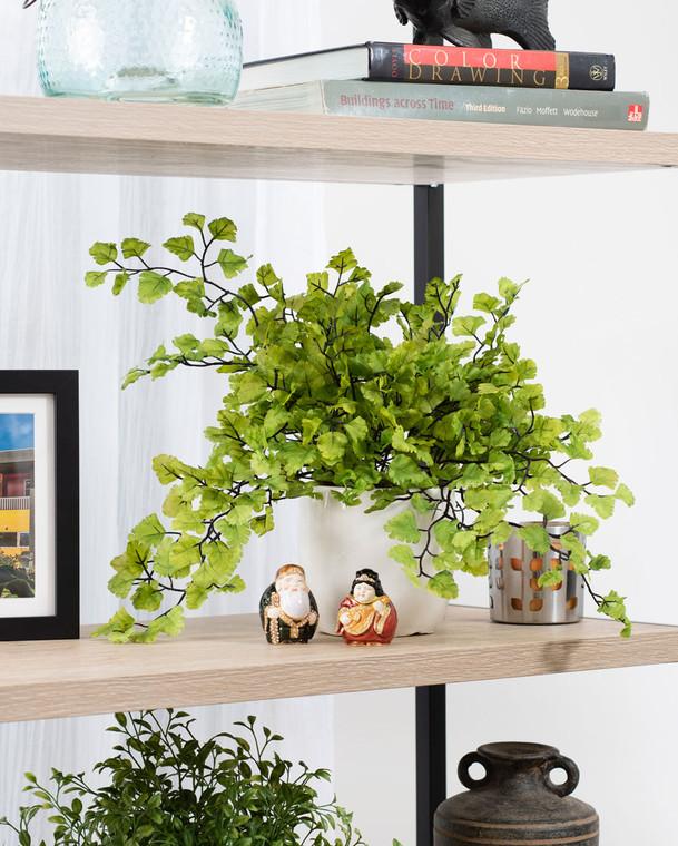 Maidenhair Fern Silk Foliage Plant