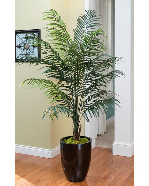 6.5' Silk Areca Palm Tree