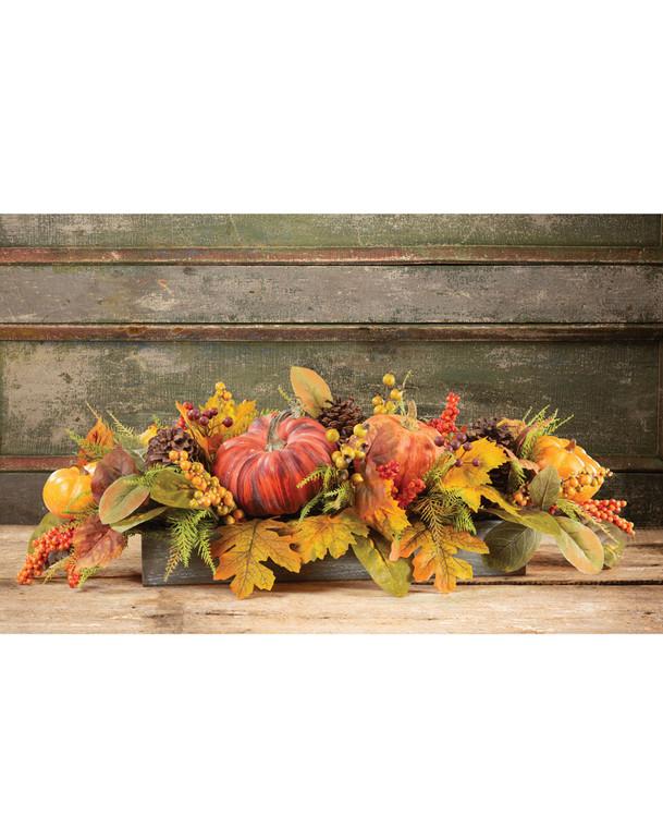 Buy colorful Pumpkins & Berries Autumn Centerpiece at Petals