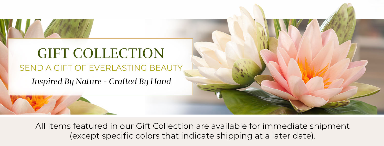 Silk Flower Gift Ideas