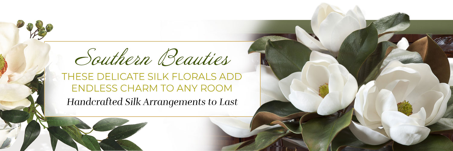 Southern Inspired Silk Floral Collection