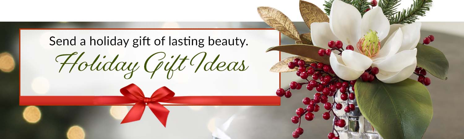 Holiday Silk Flower Gift Collection