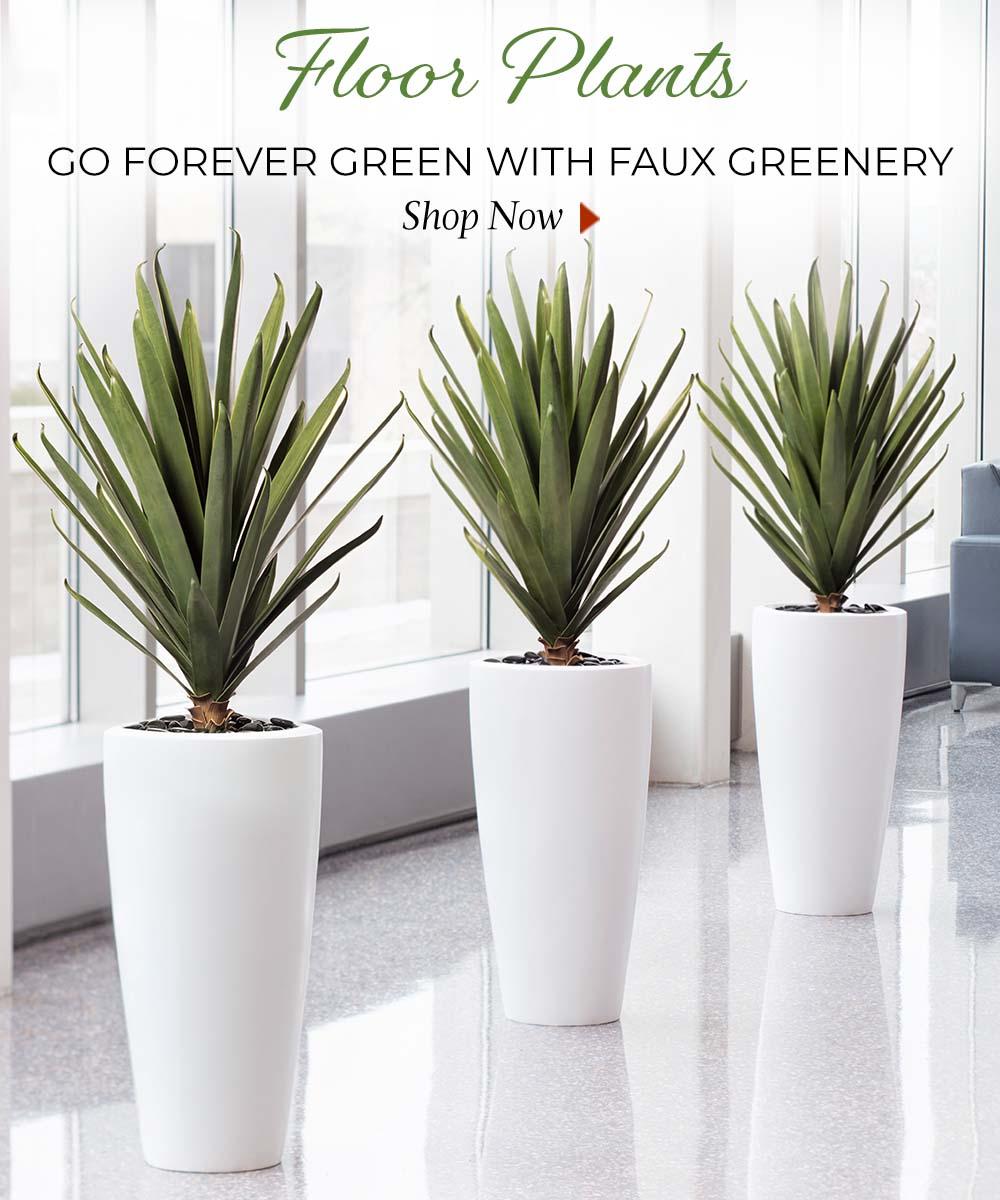 Artificial Floor Plants available at Petals.
