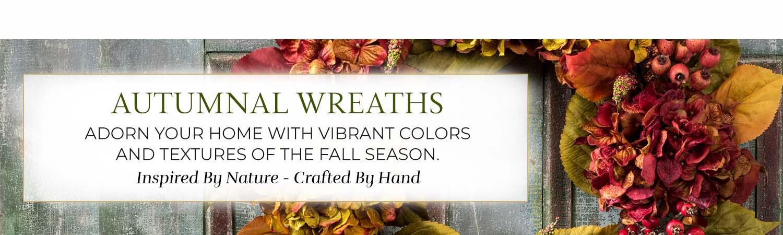 Autumn Silk Wreaths & Swags