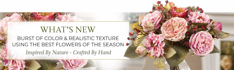 New Silk Flower Designs