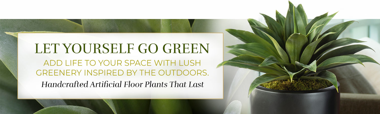 Silk & Artificial Floor Plants
