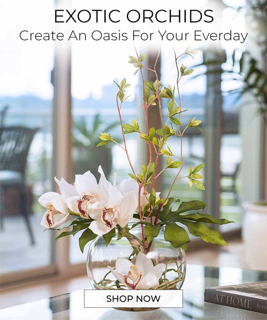 THE ORCHID COLLECTION - Realistic handcrafted Orchids by Petals.