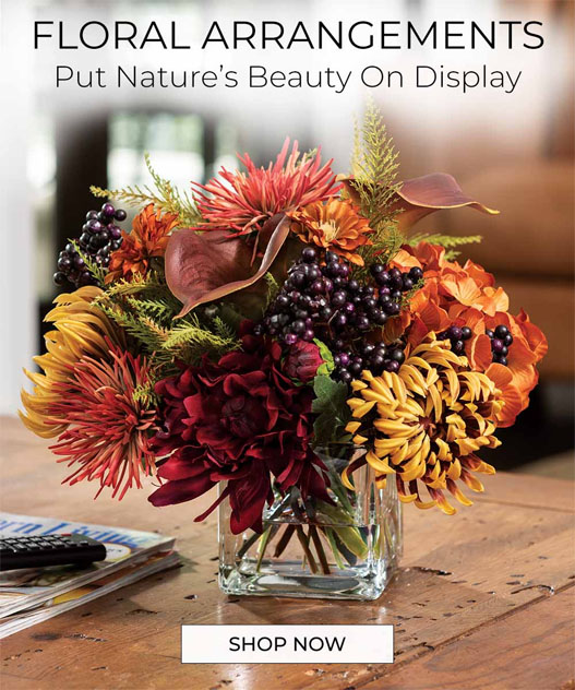 Silk Floral Arrangements By Petals - florals Inspired by nature and crafted by hand.