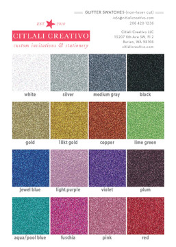 Glitter Horse colors