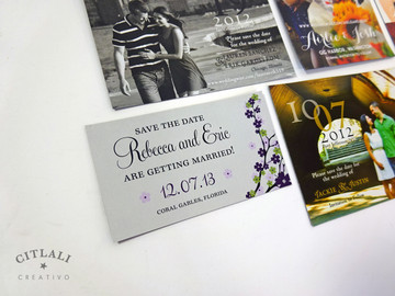Citlali Creativo Save the date Magnets