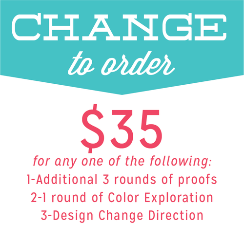 Additional Round of Proofs / Design Direction Change