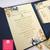 Fancy Flourishes Pocket Folder Wedding Invitations