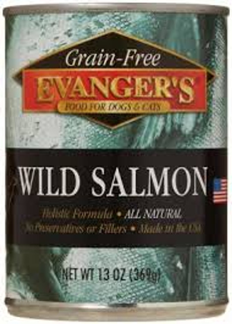 Evanger's Wild Salmon Grain Free Food