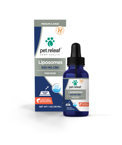 Pet Releaf Liposome Hemp Oil 300mg