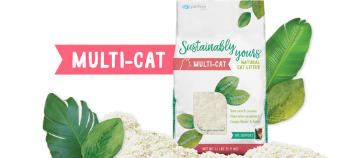 Sustainably Yours Multi Cat Litter
