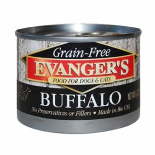 Evanger's Buffalo Grain Free Food 6oz
