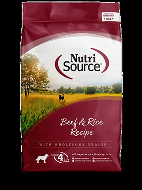 NutriSource Beef & Rice Formula