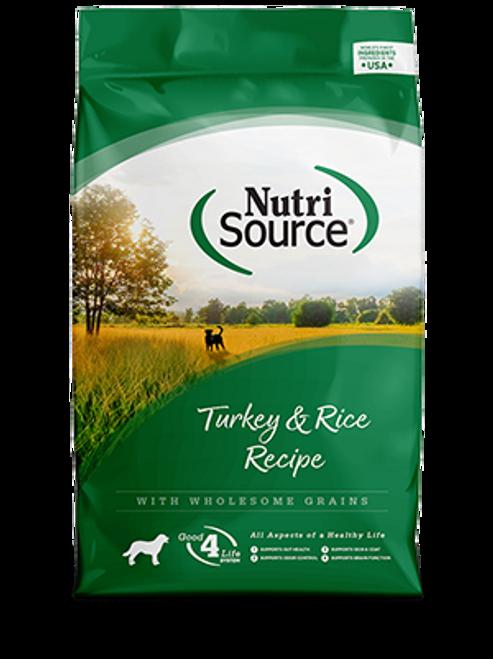NutriSource Turkey & Rice Formula
