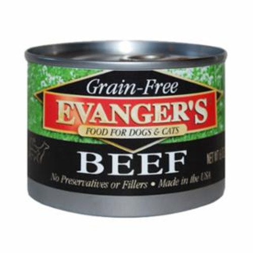 Evanger's Beef Grain Free Food