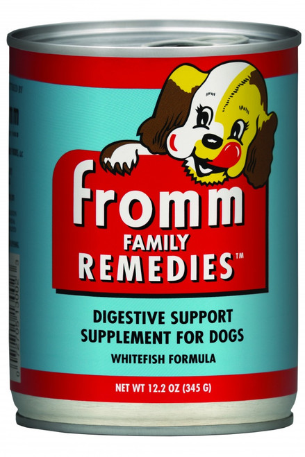 Fromm Family Remedies Whitefish Recipe Canned Digestive Support Supplement for Dogs