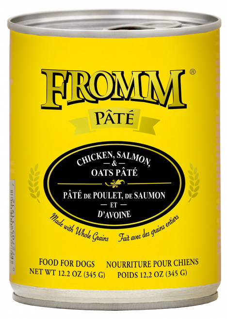 Fromm Whole Grain Chicken, Salmon & Oats Pate