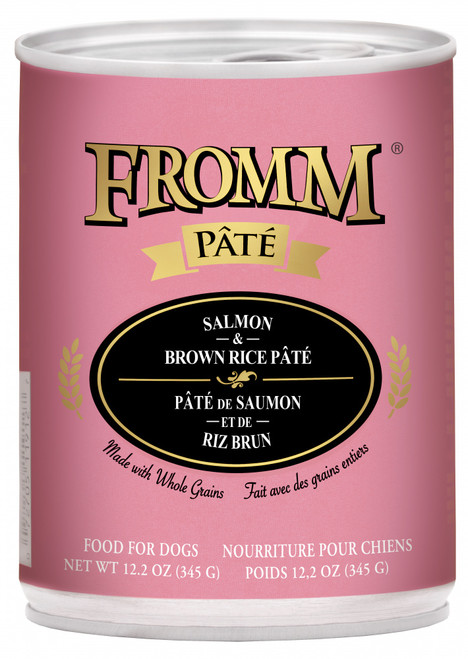 Fromm Whole Grain Salmon & Brown Rice Pate
