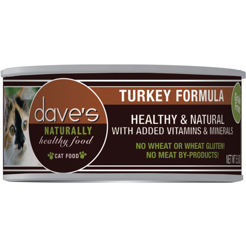 Dave's Turkey Formula Cat