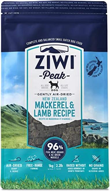 ZIWI Peak Air-Dried Mackerel & Lamb Recipe for Dogs 1lb