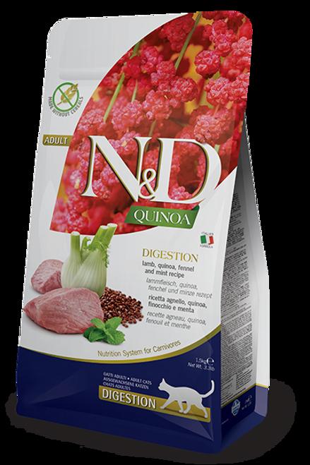 Farmina N&D Digestion Lamb & Quinoa Formula 3.3lb