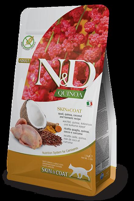 Farmina N&D Skin & Coat Quail & Quinoa Formula 5.5lb