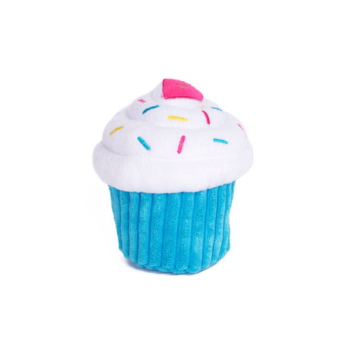 Zippy Paws Cupcake Blue