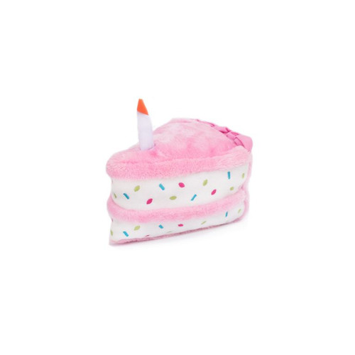 Zippy Paws Birthday Cake Pink