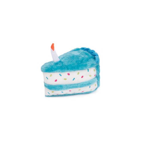 Zippy Paws Birthday Cake Blue