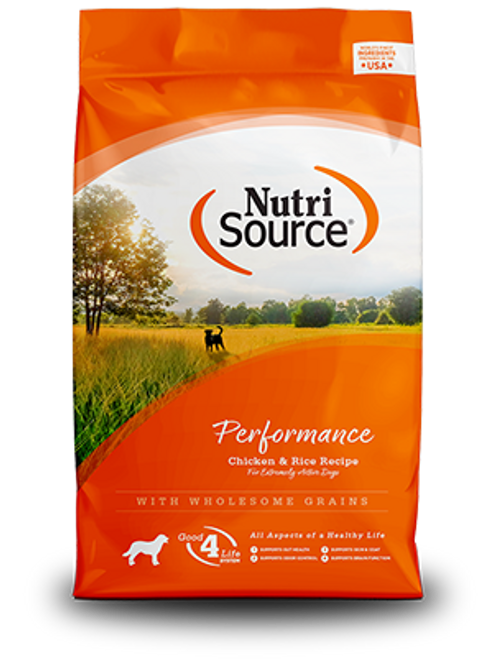 NutriSource Performance Chicken & Rice 40lb