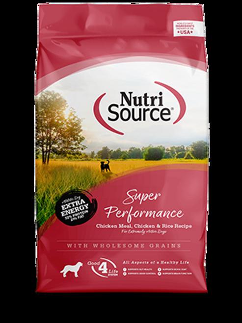 NutriSource Super Performance Chicken & Rice 40lb