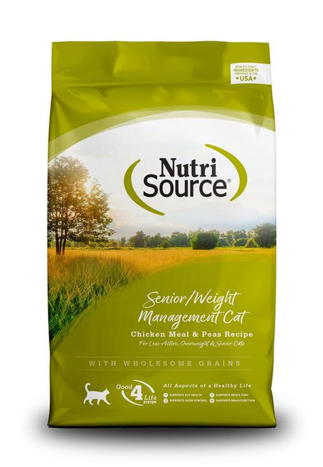 Nutrisource Senior/Weight Management Cat Formula