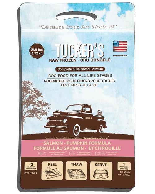 Tucker's Raw Frozen Salmon & Pumpkin Formula